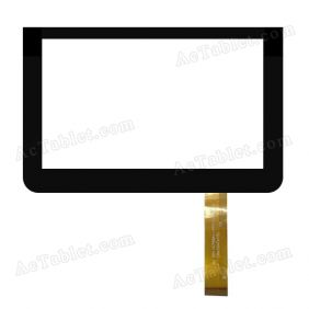 DH-0766A1-FPC159-V2.0 Digitizer Glass Touch Screen Replacement for 7 Inch MID Tablet PC