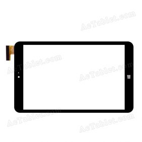 FPC-CY80J092-00 Digitizer Glass Touch Screen Replacement for 8 Inch MID Tablet PC