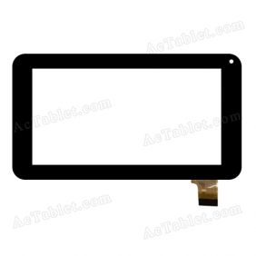 OLM-070A0075-PG FPC Digitizer Glass Touch Screen Replacement for 7 Inch MID Tablet PC