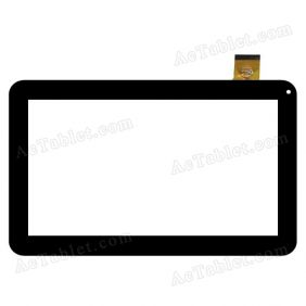 WJ698-FPC-V2 Digitizer Glass Touch Screen Replacement for 10.1 Inch MID Tablet PC