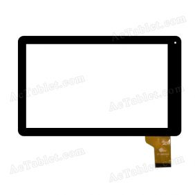 GT10MNY609 FHX Digitizer Glass Touch Screen Replacement for 10.1 Inch MID Tablet PC