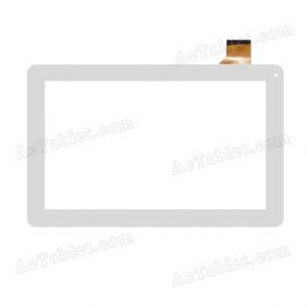 CN048C1060G12V0 Digitizer Glass Touch Screen Replacement for 10.1 Inch MID Tablet PC