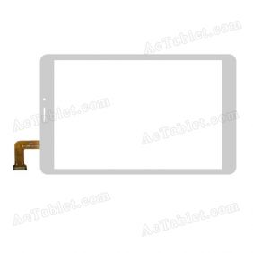 HSCTP-661-8 Digitizer Glass Touch Screen Replacement for 8 Inch MID Tablet PC