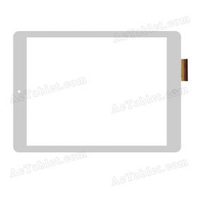 VTC5097A05-FPC-V1.0 Digitizer Glass Touch Screen Replacement for 9.7 Inch MID Tablet PC