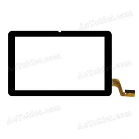 ZHC-253C Digitizer Glass Touch Screen Replacement for 7 Inch MID Tablet PC