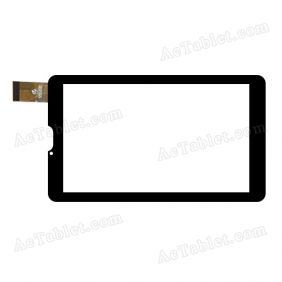 HK70DR2592 Digitizer Glass Touch Screen Replacement for 7 Inch MID Tablet PC