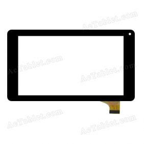 AD-C-702430-FPC Digitizer Glass Touch Screen Replacement for 7 Inch MID Tablet PC