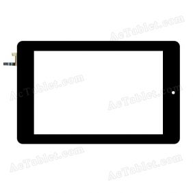 04-0700-0966 V2 Digitizer Glass Touch Screen Replacement for 7 Inch MID Tablet PC