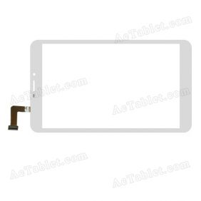 AD-C-802033-FPC Digitizer Glass Touch Screen Replacement for 8 Inch MID Tablet PC