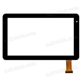 RP-379A-10.1-FPC-A2 Digitizer Glass Touch Screen Replacement for 10.1 Inch MID Tablet PC