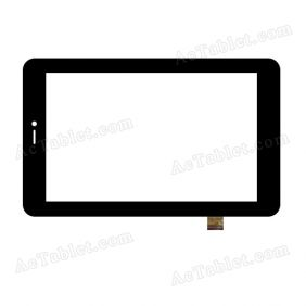 XCL-S70010A-TP  Digitizer Glass Touch Screen Replacement for 7 Inch MID Tablet PC