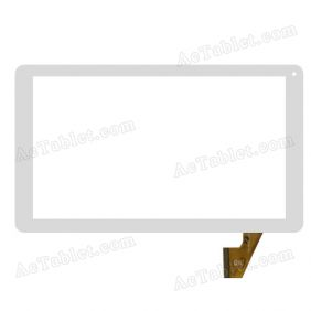 XC-PG1010-038-A0-FPC Digitizer Glass Touch Screen Replacement for 10.1 Inch MID Tablet PC