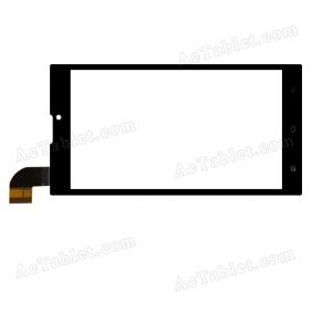 XCL-S65002B-FPC4.0 Digitizer Glass Touch Screen Replacement for 6.5 Inch MID Tablet PC