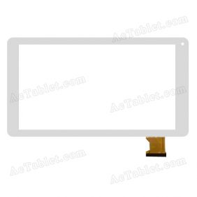 XC-PG0900-030B-A1 FPC Digitizer Glass Touch Screen Replacement for 9 Inch MID Tablet PC