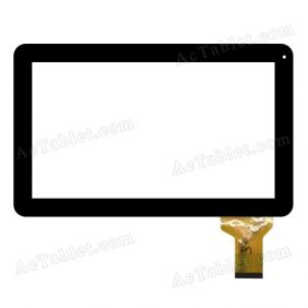 XC-PG1010-005FPC Digitizer Glass Touch Screen Replacement for 10.1 Inch MID Tablet PC