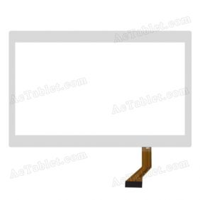 XN1367V1 Digitizer Glass Touch Screen Replacement for 10.1 Inch MID Tablet PC