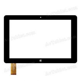 Digitizer Touch Screen Replacement for TrekStor SurfTab wintron 10.1 Inch pure WIFI Tablet PC