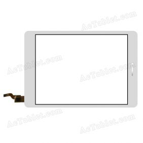 XCL-S78028A-FPC Digitizer Glass Touch Screen Replacement for 7.9 Inch MID Tablet PC