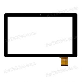 HXD-1014A2 Digitizer Glass Touch Screen Replacement for 10.1 Inch MID Tablet PC