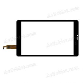 XCL-S80022B-FPC2.0 Digitizer Glass Touch Screen Replacement for 8 Inch MID Tablet PC
