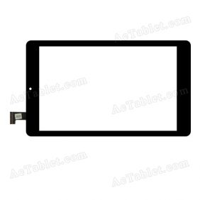 SG6099A-FPC-V1-1 Digitizer Glass Touch Screen Replacement for 7.5 Inch MID Tablet PC