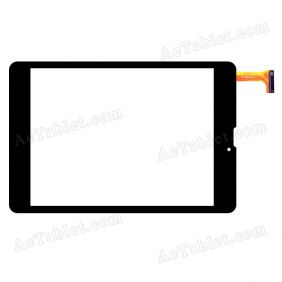 YCF336-B Digitizer Glass Touch Screen Replacement for 7.9 Inch MID Tablet PC