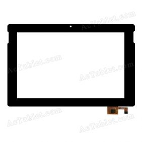 QSD 702-10119-02 Digitizer Glass Touch Screen Replacement for 10.1 Inch MID Tablet PC