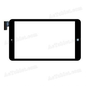 C205119A1-FPC849DR-02 Digitizer Glass Touch Screen Replacement for 8 Inch MID Tablet PC