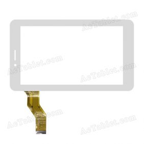 HC186104H3-FPC838DR Digitizer Glass Touch Screen Replacement for 7 Inch MID Tablet PC