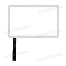 F-WGJ10157-V6 Digitizer Glass Touch Screen Replacement for 10.1 Inch MID Tablet PC