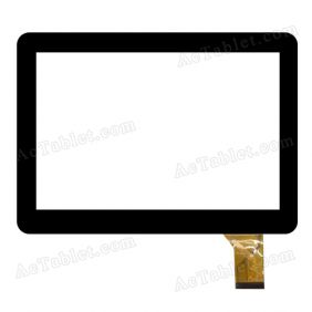 XC-GG1010-036-A0-FPC Digitizer Glass Touch Screen Replacement for 10.1 Inch MID Tablet PC