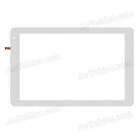 F-WGJ10224-V1A Digitizer Glass Touch Screen Replacement for 10.1 Inch MID Tablet PC