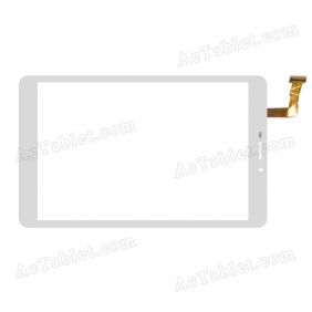 CG80308A0 Digitizer Glass Touch Screen Replacement for 7.9 Inch MID Tablet PC