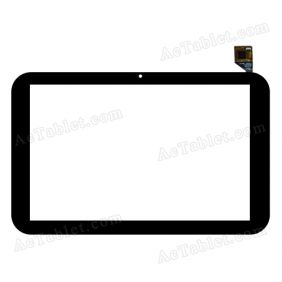 F800123C-1 T101WXHS02A02 Digitizer Glass Touch Screen Replacement for 10.1 Inch MID Tablet PC