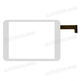 OLM-080A00241-PG Digitizer Glass Touch Screen Replacement for 8 Inch MID Tablet PC
