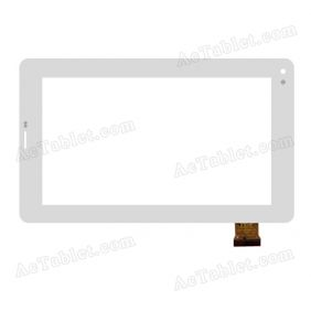 YTG-G70094-F1 Digitizer Glass Touch Screen Replacement for 7 Inch MID Tablet PC