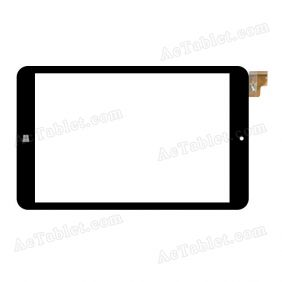 PB80JG2030 Digitizer Glass Touch Screen Replacement for 8 Inch MID Tablet PC