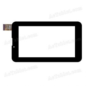 C178099A1-FPC802DR Digitizer Glass Touch Screen Replacement for 7 Inch MID Tablet PC