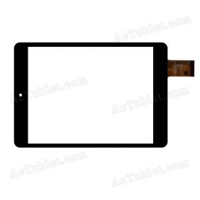 C196131A7-FPC747DR Digitizer Glass Touch Screen Replacement for 8 Inch MID Tablet PC