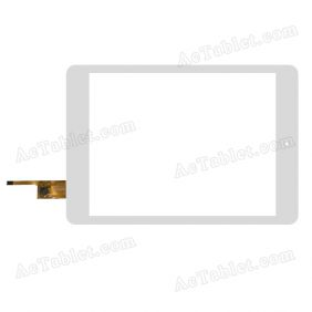 YCF0412-B Digitizer Glass Touch Screen Replacement for 7.9 Inch MID Tablet PC