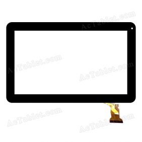 RP-403A-10.1-FPC-A2 Digitizer Glass Touch Screen Replacement for 10.1 Inch MID Tablet PC