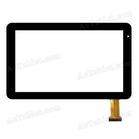 RP-397A-10.1-FPC-A2 Digitizer Glass Touch Screen Replacement for 10.1 Inch MID Tablet PC