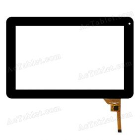 198-3FPC(CS-3860) Digitizer Glass Touch Screen Replacement for 9 Inch MID Tablet PC