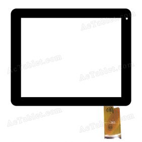 363 Digitizer Glass Touch Screen Replacement for 8 Inch MID Tablet PC