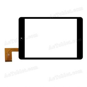 FPC-UK078015G-01-V0.2 Digitizer Glass Touch Screen Replacement for 7.9 Inch MID Tablet PC