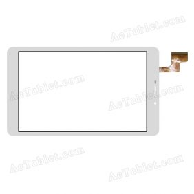 FPCA-80A02-V01 Digitizer Glass Touch Screen Replacement for 8 Inch MID Tablet PC