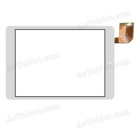FPCA-75A1-V02  Digitizer Glass Touch Screen Replacement for 7.5 Inch MID Tablet PC