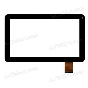 F-WGJ10195-V3 Digitizer Glass Touch Screen Replacement for 10.1 Inch MID Tablet PC