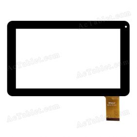 WJ518-FPC V2.0 Digitizer Glass Touch Screen Replacement for 9 Inch MID Tablet PC