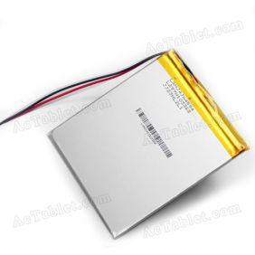 Replacement 4800mah Battery for Gemei G6 Amlogic 8726-MX Dual Core Tablet PC 3.7V DC 5V